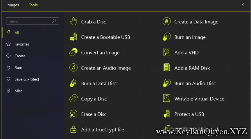DAEMON Tools Ultra 5.4.1.928 (x64) Full Key, Phần mềm tạo ổ ảo,Hỗ trợ Boot