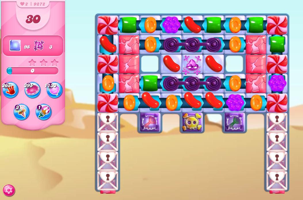 Candy Crush Saga level 9272