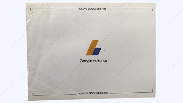 gambar surat pin adsense bagian depan