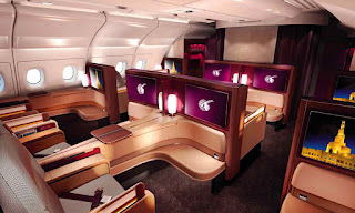 Qatar Airways First Class seats, A380