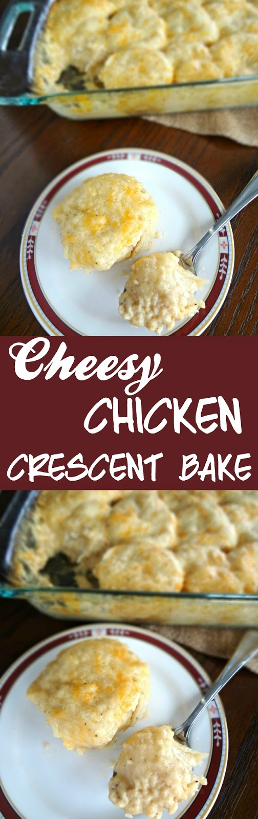 Cheesy Chicken Crescent Bake