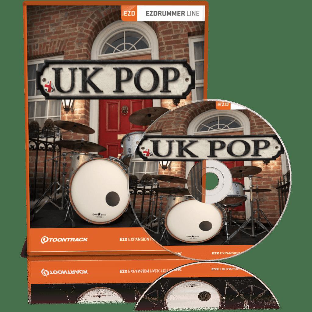 Toontrack UK Pop EZX Full version