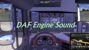 6 cylinders sound mod for Daf, Volvo and Scania