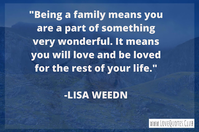 inspirational quotes for family love