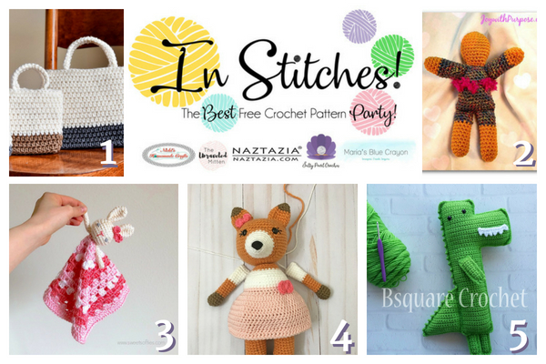 In Stitches Best Free Crochet Patterns Link Up Party Week 10
