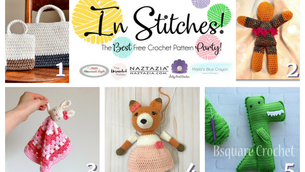 In Stitches - Best Free Crochet Patterns Link Up Party Week #10