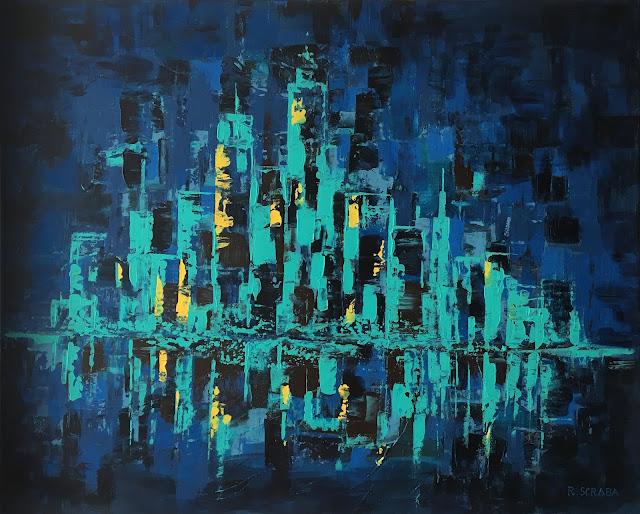 City Lights by Roxana Scraba
