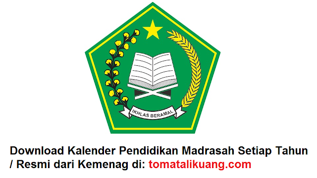 download kalender pendidikan kemenag 2020/2021; download kalender pendidikan madrasah 2020/2021;  kalender pendidikan ra mi mts ma tahun 2020/2021; tomatalikuang.com