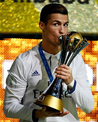 🏅 #Cristiano #Ronaldo is the #ClubWC's all-time #top #scorer with seven #goals in eight matches. #CR7.