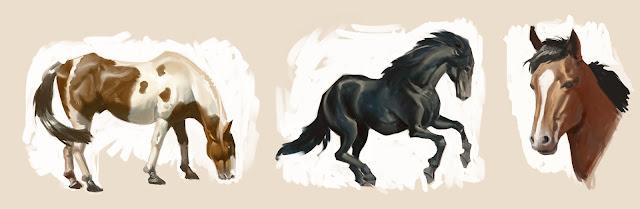 douglas deri, deri, art, fineart, oil, head studies, head paint, paint,head, expressions , tutorial, brush, horse