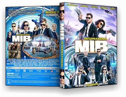 DVD - MIB Homens de Preto Internacional 2019 - ISO
