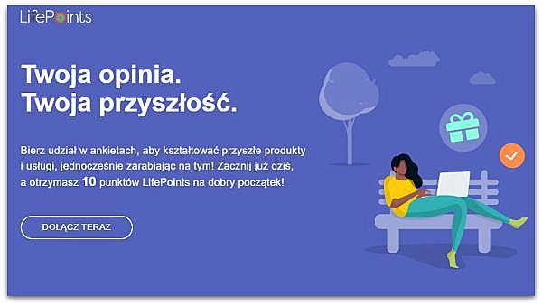 LifePointsPanel, płatne ankiety.