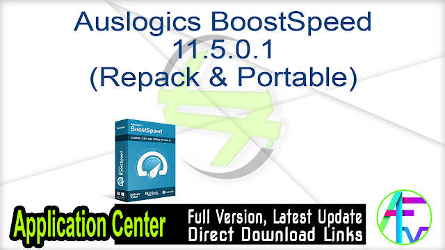 Auslogics BoostSpeed 11.5.0.1 (Repack & Portable)