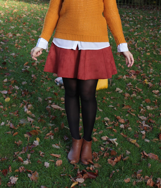knitwear, josie´s little wonderland, outfit, details, fashion, blog, fashionpost, autumcolours