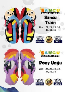 Sancu Train dan Pony Ungu