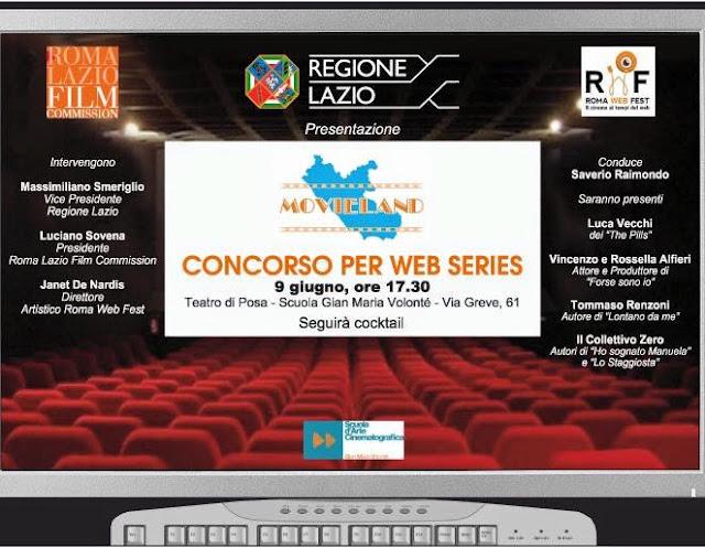 LA PRESENTAZIONE DI MOVIELAND-ROMA WEB FEST