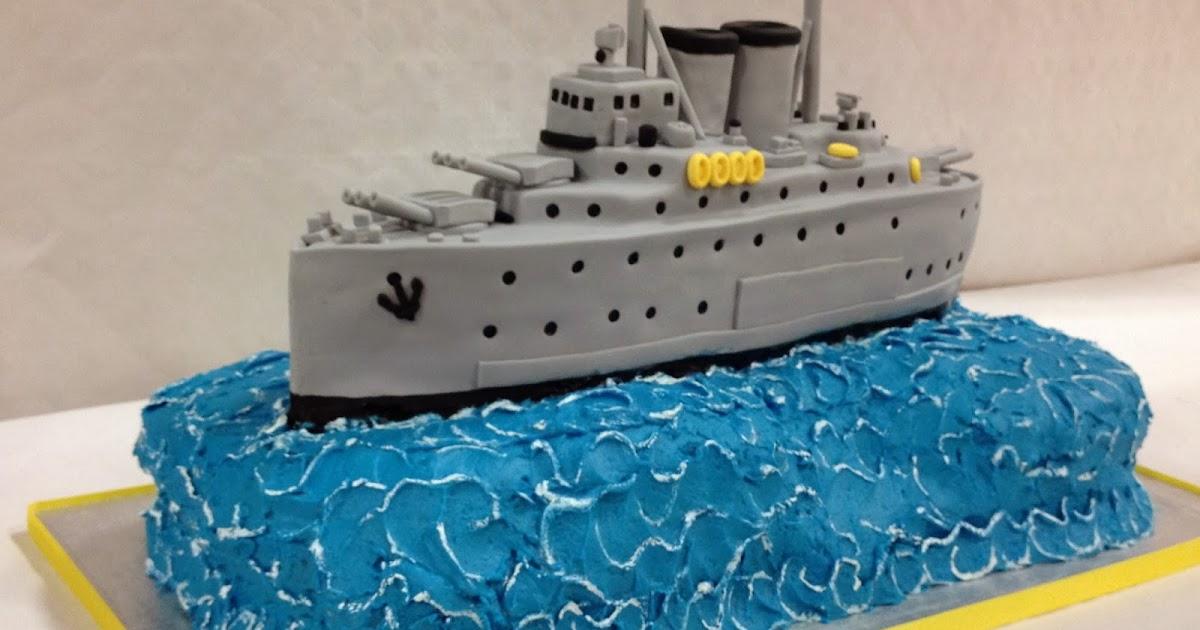 elaines sweet life battle ship cake