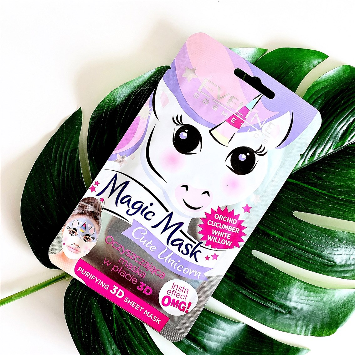 Eveline Cosmetics Magic Mask Cute Unicorn