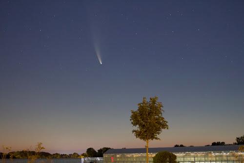comet neowise in the morning sky july 13 2020