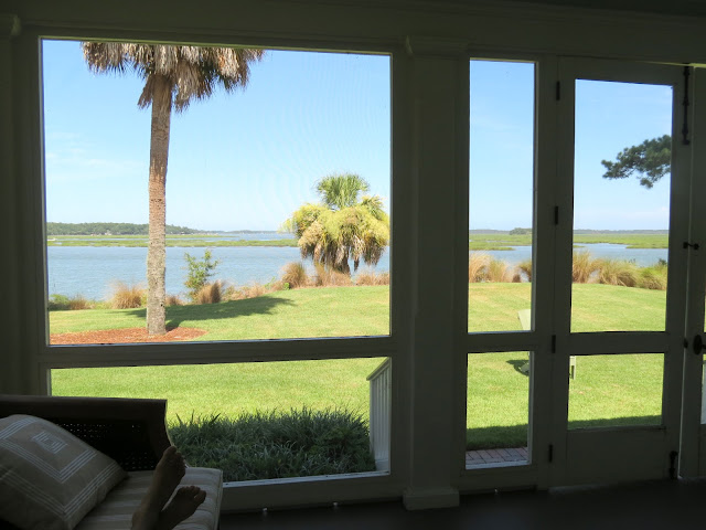 views from cottages at palmetto bluff