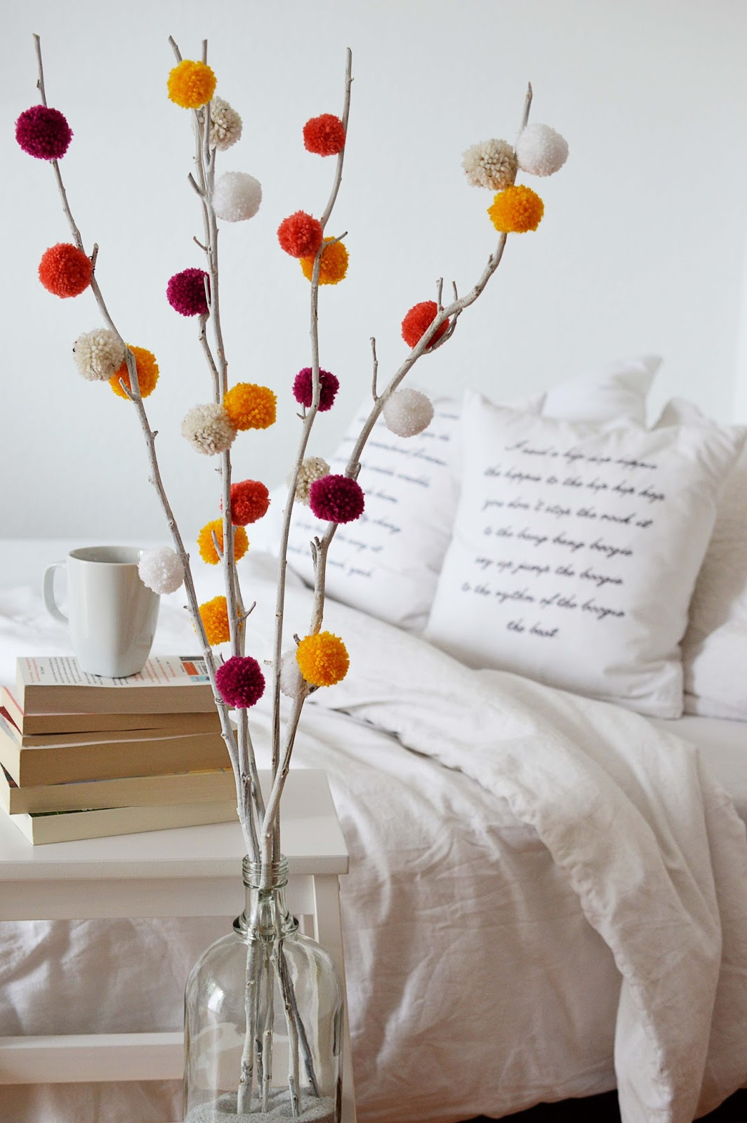 DIY Pom Pom Tree | Motte's Blog
