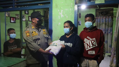 Kabag Sumda Polres Dairi Pimpin Patroli Gabungan Skala Besar Pendisiplinan Dan Penertiban Jam Operasional