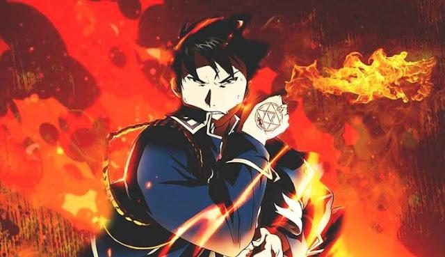 roy mustang Karakter Anime Berkekuatan Api Terkuat