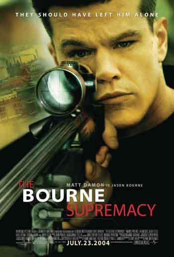The Bourne Supremacy 2004 480p 300MB BRRip Dual Audio