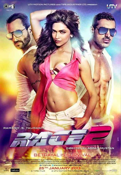 Race 2 Full Movie Download 480p 300mb | 720p 700mb Bolly4u