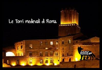 Le Torri medievali di Roma - Passeggiata serale nella storia di Roma