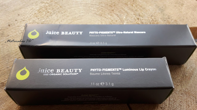 Paltrow Juice Beauty mascara, lip crayon