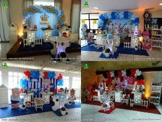 Decoração festa de 1 ano - Aniversário
