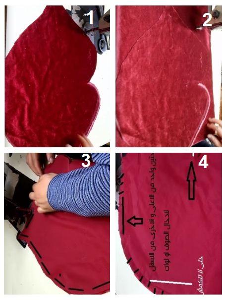 تعلم طريقة خياطة وسادة الشفاة - ديكور غرف النوم