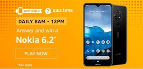 Amazon Quiz 1 December 2019 Answer | Win Nokia 6.2 Smartphone