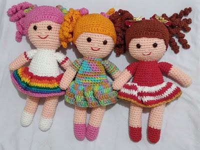 Ideias de Bonecas Amigurumi – Meu Mundo de Crochê | 300x400