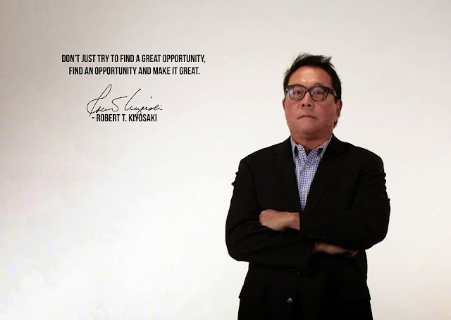 """Robert Kiyosaki the author of the #1 personal finance book: """"Rich Dad Poor Dad"""""""