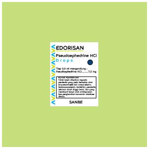 Edorisan : Pseudoephedrine HCl Drops