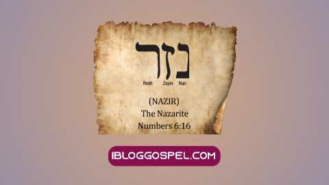 What Is A Nazarite In The Bible