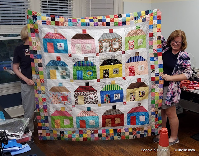 Airing of the Quilts - Pieceful Hearts Style!