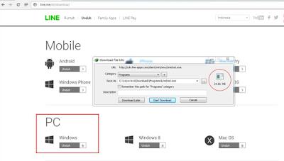 Cara Download dan Instal LINE pada PC atau Leptop