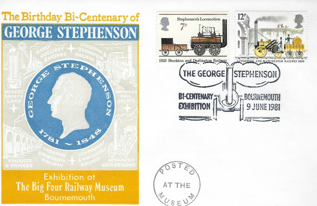 GB  1981 Bicentenary of George Stephenson