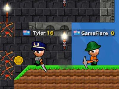 Diggerz Mincraft - Play Free Online Game