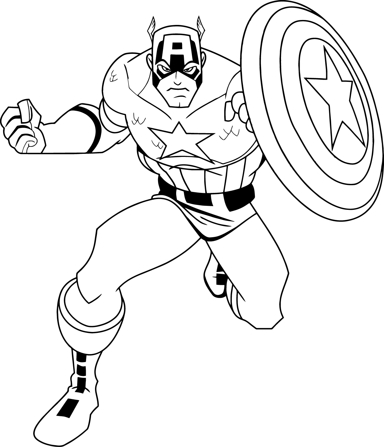 Fun Amp Learn Free Worksheets For Kid Captain America