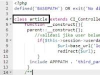 Cara Mengatasi Error 404 di CodeIgniter Terbaru