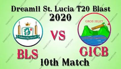 Who will win BLS vs GICB 10th T10 Match