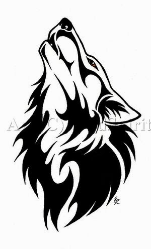 ART and TATTOO: Wolf