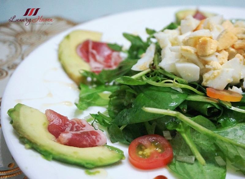 prosciutto di parma ham avocado salad recipe