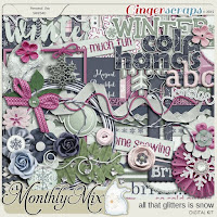 Kit : All That Glitters Is Snow by GingerScraps designers