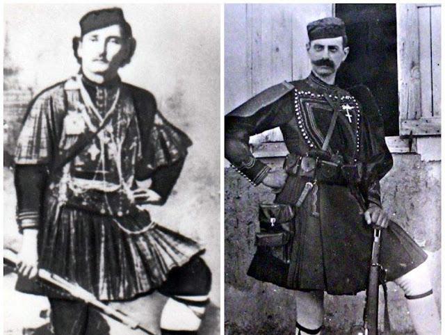 Ο Θύμιος Λιώλης στο πλευρό του Παύλου Μελά στον Μακεδονικό Αγώνα