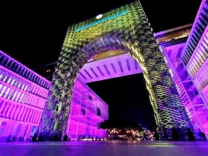 Cantiknya (LAMPU) Light And Motion Putrajaya 2019! Masuk PERCUMA!
